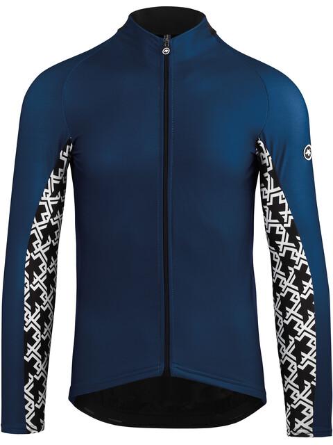 assos Mille GT Långärmad cykeltröja Herr blå